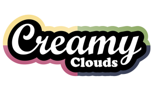 Creamy Clouds - web logo